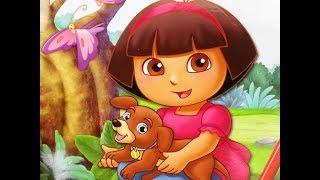 Dora Explorer Coloring Book Perrito Даша Путешественница Раскраска для девочек Kinder fun