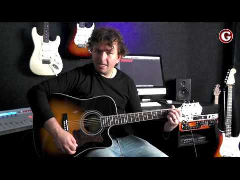 How to play B7 open chord - some tips on how to memorise the chords - Guitar Couch Lessons