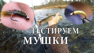 Ловля рыбы на искусственные мушки