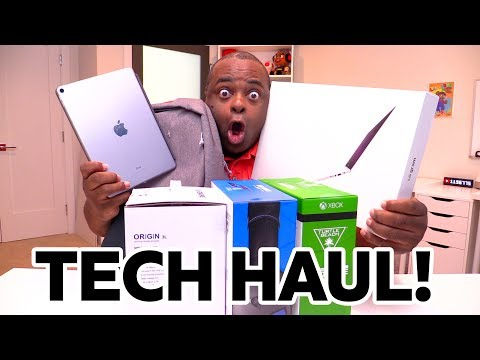 HUGE TECH HAUL! [July 2017]