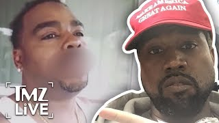 Kanye West Targeted By The Crips | TMZ Live - Video Youtube
