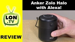 Anker Zolo Halo Speaker Review - $20 Amazon Echo / Alexa Dot Alternative?