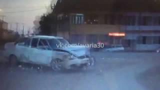 Авария на перекрестке  Магистральная Гагарина
