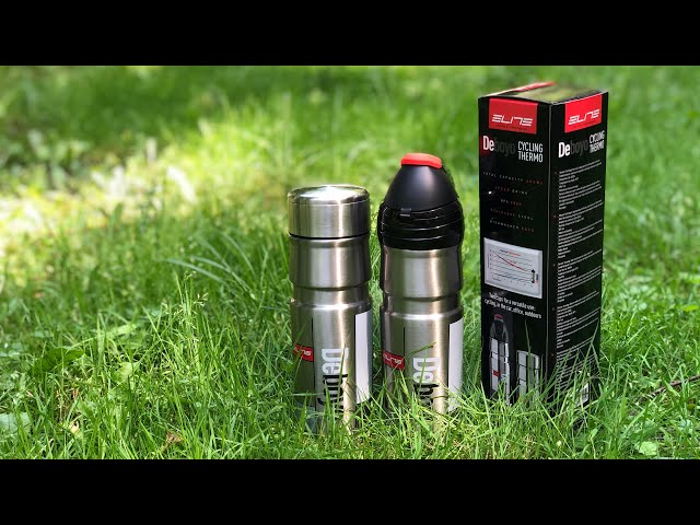 Видео Фляга Elite Deboyo Race Thermal Drink Bottle, 550 ml серебристая