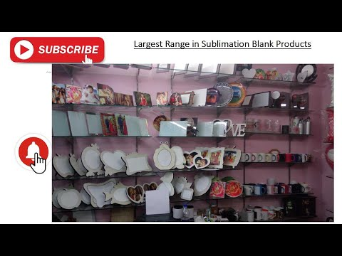 Sublimation Blank Products - Sublimation Blanks