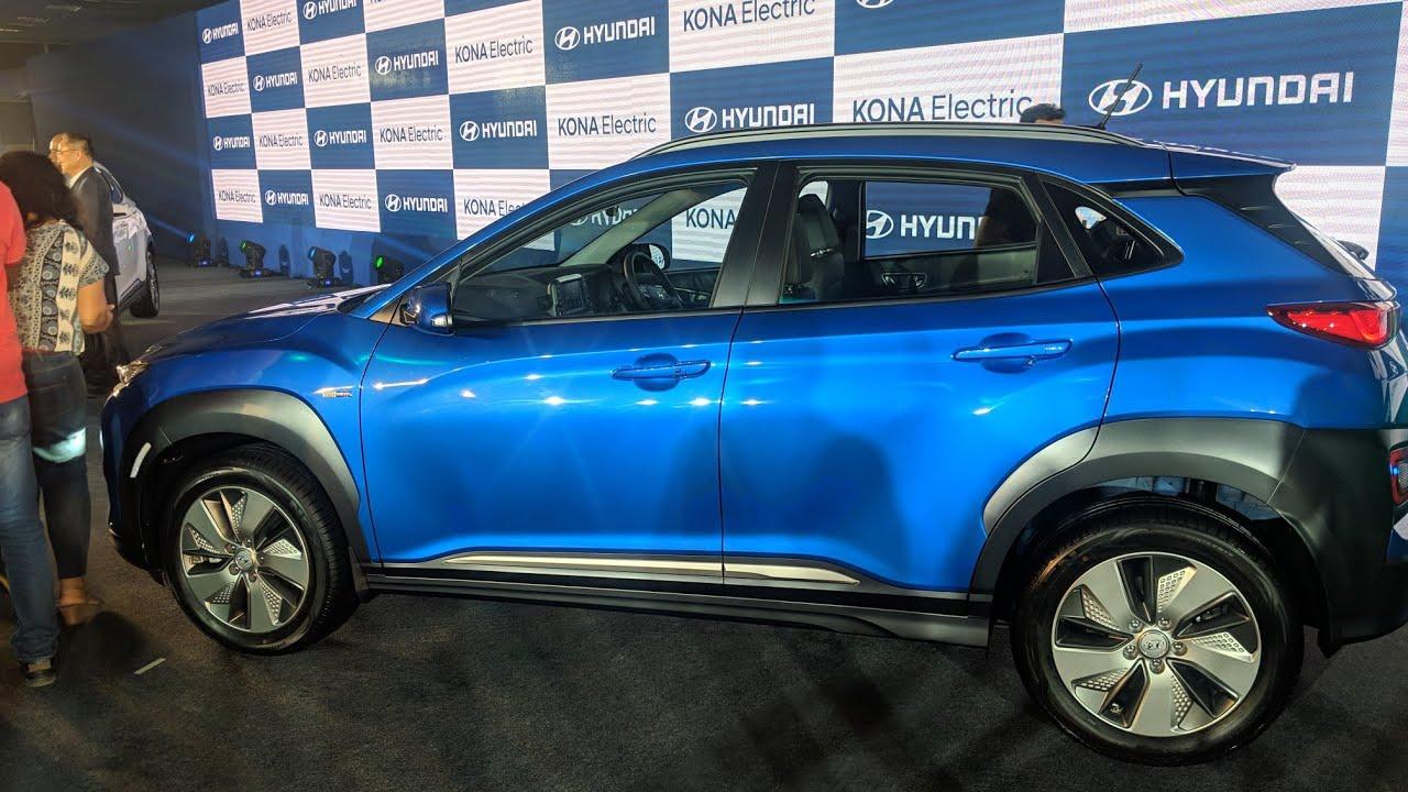 Motoroctane Youtube Video - Hyundai Kona - 452km range Electric SUV | Walkaround