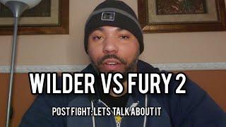 Wilder vs Fury 2: Post Fight Talk