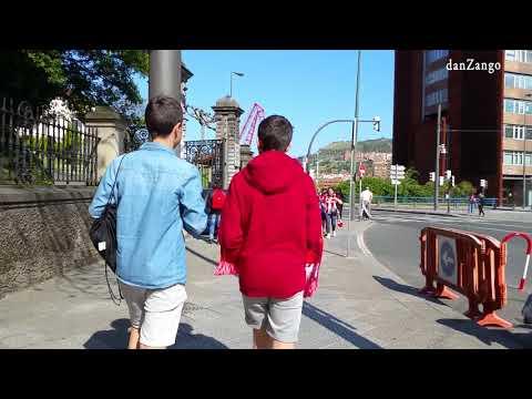 Walking tour of bilbao Spain. pt 5