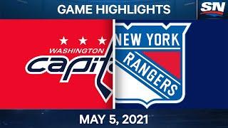 NHL Game Lus Tshaj Tawm | Capitals vs. Rangers - Tsib Hlis 5, 2021