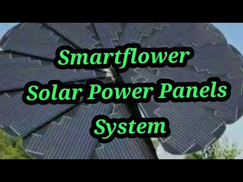 SmartFlower: An Intelligent Solar Panel System Tracks Sun