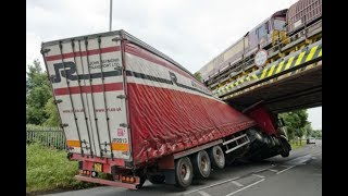 Trucks Hitting Bridges Compilation