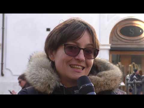 La protesta delle guide turistiche a Montecitorio
