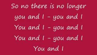 Medina - You and I Lyrics