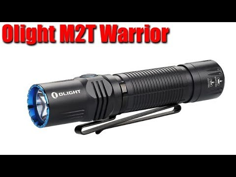 Olight M2T Warrior 1200 Lumen Tactical Flashlight Review