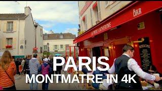 [4K] Virtual Walking Video of Paris 4K - Sacré Coeur Basilica, Montmartre