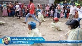 Aneka Permainan Rakyat Meriahkan Idul Adha