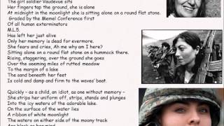 AQA Conflict poetry Anthology: Carousel revision video of all poems being read consecutively