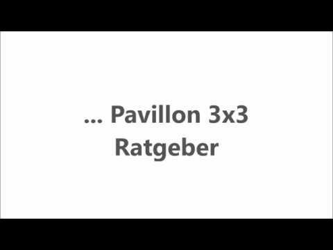 Pavillon 3x3 - Ratgeber, Vergleiche, Tipps - pavillon-kaufen.de - 2017