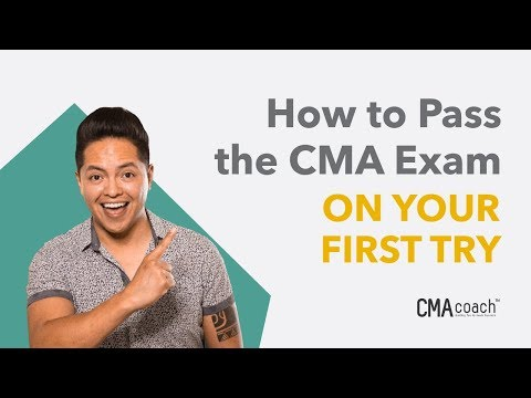 How to Pass the CMA Exam - ON YOUR FIRST TRY - YouTube
