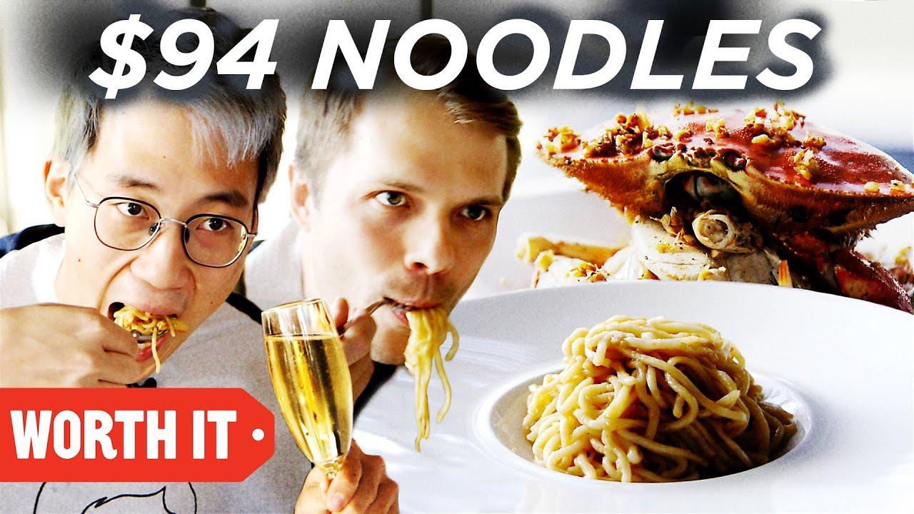 $10 Noodles Vs. $94 Noodles thumbnail