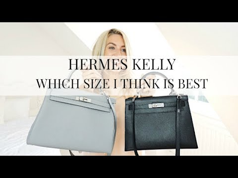 WHICH HERMES KELLY BAG I THINK IS THE BEST SIZE | REVIEW OF MY HEMRES KELLY BAGS | IAM CHOUETTE