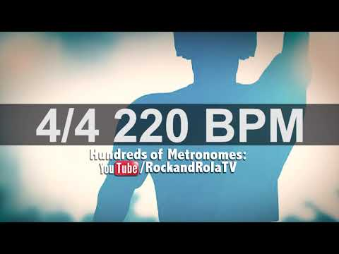 Download Drums Metronome 220 Bpm Video 3GP Mp4 FLV HD Mp3 Download