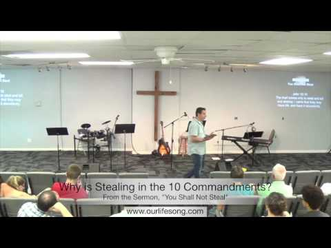 Why is Stealing in the Ten Commandments?
