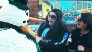 Hidden Camera The Scary Snowman 7