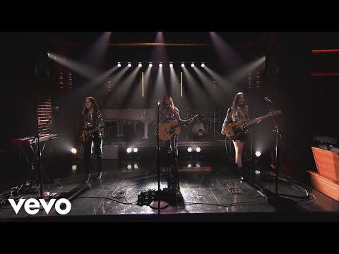 HAIM - Want You Back (Live from The Tonight Show Starring Jimmy Fallon)