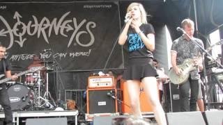 Beautiful Bodies performing Invincible- Warped Tour 2015- Orlando, FL