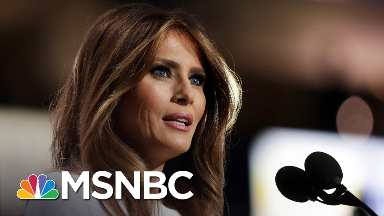 What Melania Trump Will Do For Americans | MSNBC thumbnail