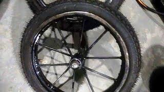 Самодельные колёса для тачки (тележки)
