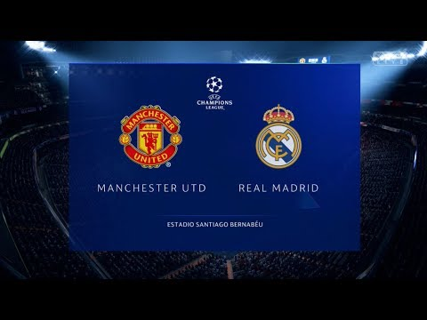 74e73a546c7 Fifa 19 Manchester United vs Real Madrid Xbox One S Full Match Gameplay -  Wayne Jackson