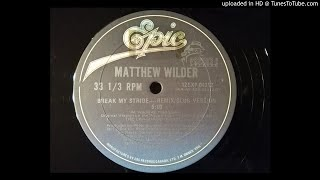 matthew wilder break my stride download mp3