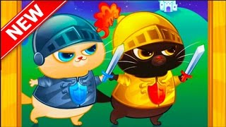 Мультик игра Котик Бубу в гостях у друга 2 серия 2017 года / Cartoon game Kotik Bubu at a friend's