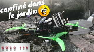 COCOFINÉ !!! FPV RACER IN THE GARDEN