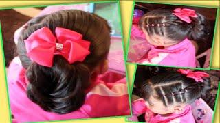 Peinado Para Niña Regreso A Clases  <b>Marce</b>AlDescubierto  <b>Marce</b>
