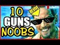 10 GUNS NOOBS THINK ARE BAD - ARE YOU A NOOB? (10 Weapons Call of Duty Z...