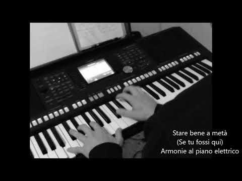 Stare bene a metà (di P. Daniele) - Piano elettrico su traccie melodia,basso e batteria