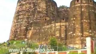 Walls of Jhansi Rani Fort, Uttar Pradesh
