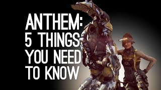 Anthem Gameplay: 5 Things You Need to Know About Anthem, Bioware's New Game
