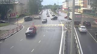 ДТП проспект Фрунзе Суздальское шоссе  (03 06 18, Ярославль)