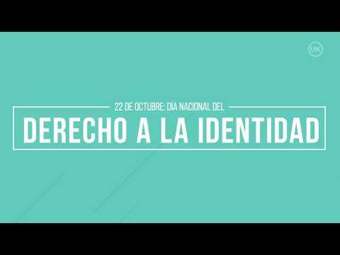 Video: Derecho Nacional a la identidad