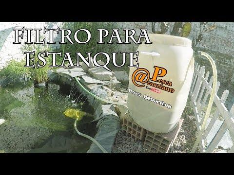 ARMADO CASERO DE FILTRO PARA ESTANQUES