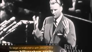 Billy Graham  New York Crusade A Sermon, How To Live The Christian Life