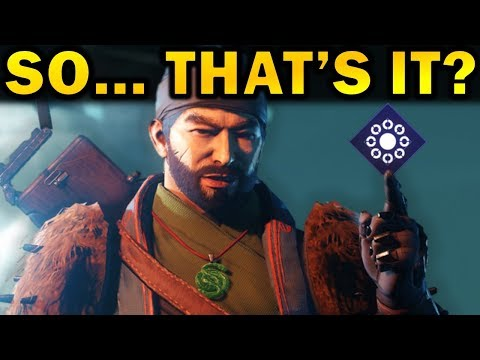Destiny 2: So... That's It? | Season of the Drifter Review