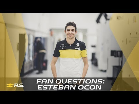 Video | Fan questions for Esteban Ocon