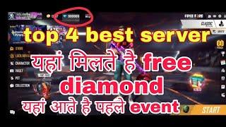 Free fire best server | server list | Konsa server aacha hai | how to change server in free fire