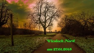 preview picture of video 'Wiesloch Nord am 27.01.2015'