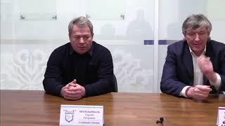 ОЧРК 2019/2020 Пресс-конференция по итогам двух матчей ОЧРК ХК «Актобе» - ХК «Ertis»